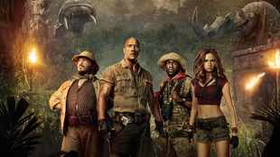 'Jumanji: The Next Level' is fun on the run