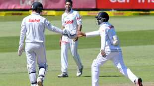 Bad light curtails day two in Durban
