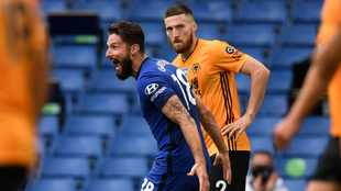 Chelsea earn Champions League place with win over Wolves