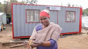 New 'container homes' offer a fresh start to two Durban families