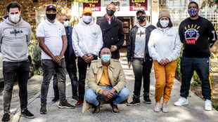 DJ Shimza and p.H feed the hungry in Cape Town