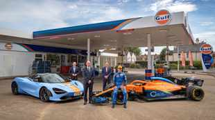 Gulf annouces multi-year supercar and F1 partnership with Mclaren
