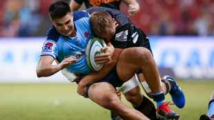 Gordon scores hat-trick as Waratahs rampage to big win over Reds