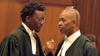 Advocate Tembeka Ngcukaitobi for EFF and Advocate Dali Mpofu representing UDM and Cope argued that the president can't appoint a judge of his choice to head the commission of inquiry into the state capture. Picture: ANA