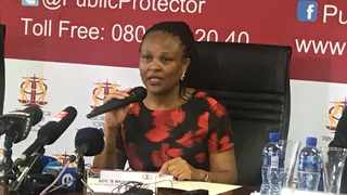 Protector Busi Mkhwebane under fire for altered Vrede report. FILE PHOTO: ANA
