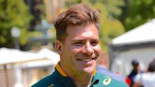 Former Springbok hooker Schalk Brits said he will have very keen interest in the tour, having represented English club Saracens for almost a decade. Photo: Michael Sherman