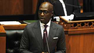 Finance Minister Malusi Gigaba delivers his Budget speech in Parliament on Wednesday. PHOTO: Phando Jikelo/ANA Photo