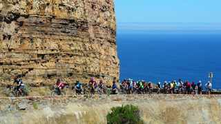 Cyclists on Chapmans Peak during the 2018 Cape Town Cycle Tour. Picture Henk Kruger/ANA/African News Agency