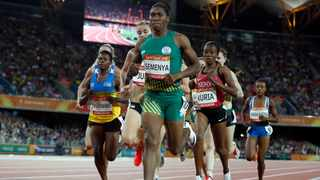 Caster Semenya is the reigning world and Olympic champion over 800m and won the 800m-1 500m double at this month's Commonwealth Games. Photo: Paul Childs/Reuters