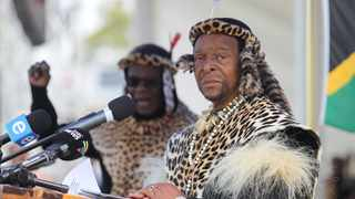 Zulu King Goodwill Zwelithini. Picture: Doctor Ngcobo/African News Agency(ANA)