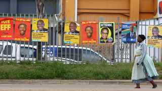 The messages on the political parties election campaign posters are varied but there is not a single message related to the scourge of gender-based violence that has marred our social landscape, says the writer. File picture Bongani Mbatha / African News Agency (ANA)
