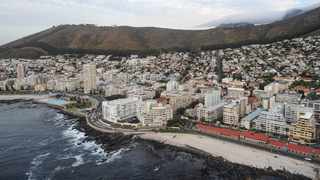 An aerial view of Cape Town's Atlantic seaboard including Sea Point, Lion's Head, Signal Hill and Table Mountain. Picture: Henk Kruger/ANA/African News Agency