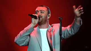 "British singer-songwriter Sam Smith during his 45-minute long performance at Grand West. The singer cut his show short because of a ""strained voice"". Picture: Ian Landsberg/AFRICAN NEWS AGENCY (ANA)"