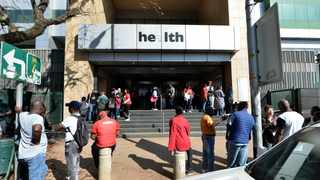 The Department of Health building in Pretoria CBD. Picture: Bongani Shilubane/African News Agency/(ANA)