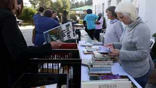 People browse through books at the Franschhoek Literary Festival in South Africa on May 18, 2019. File photo: Brendan Magaar/African News Agency(ANA)