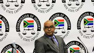 South Africa - Johannesburg - 03 June 2019 - Former ANN7 Editor, Mr Rajesh Sundaram appears before the commission of inquiry into allegations of state capture. Picture: Dimpho Maja/African News Agency(ANA)