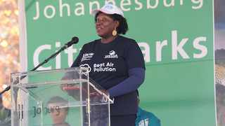 Cecilia Njenga, Head of the United Nations Environment Programme Office in Pretoria, called for urgent action or Africa must face the consequences. Picture: Karen Sandison/African News Agency(ANA)