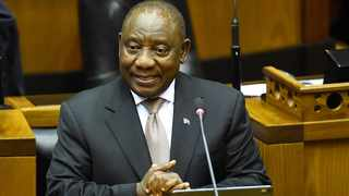 President Cyril Ramaphosa replying to the State of the Nation debate in Parliament. Picture: Phando Jikelo/African News Agency(ANA)