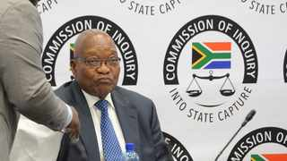 Former President Jacob Zuma appeared before the Zondo Commission. Picture: Karen Sandison/African News Agency(ANA)
