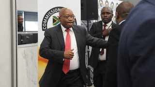 Former President Jacob Zuma appears at the Zondo Commission of Inquiry into State capture. Picture: Karen Sandison / African News Agency (ANA)