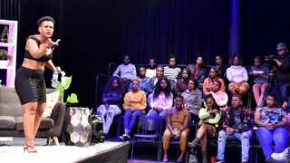 """Reality TV star Zodwa Wabantu at the finale of """"Zodwa Wabantu: Uncensored"""" reality TV show at the Soweto Theatre. Picture: Itumeleng English/African News Agency(ANA)"""