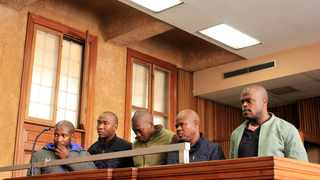 Officers arrested during the Joburg CBD raids in the Johannesburg Magistrate's Court. File picture: Dimpho Maja/African News Agency(ANA).
