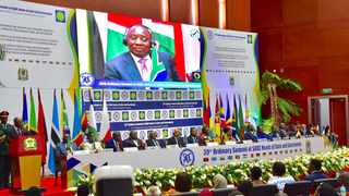 Heads of States attending the 39th Ordinary Summit of SADC Heads of State and Government.Picture: Elmond Jiyane, GCIS