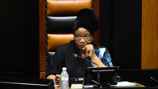 Speaker of Parliament Thandi Modise. Picture: Phando Jikelo/African News Agency(ANA)
