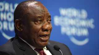 SOUTH AFRICA - Cape Town - 05 September 2019-  President of South Africa Cyril Ramaphosa,Amina Mohamed the Deputy Secretary-General of the UN  discussing the topic ' Is Africa Ready for the Fourth Industrial Revolution?' at the World Economic Forum on Africa 2019.The panel was hosted by Klause Shwab the founder and executive chairman of the World Economic Forum and Amina Mohamed the Deputy Secretary-General of the UN.photograph:Phando Jikelo/African News Agency(ANA)