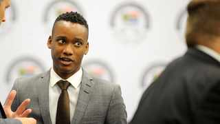 Duduzane Zuma  appears at the State Capture Zondo Commission in Parktown on Tuesday. Picture: Nokuthula Mbatha/African News Agency(ANA)
