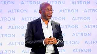Chief Executive Mteto Nyati at the Altron released their interim results for the six months ended August 31 2019 on October 24. Photo: Nokuthula Mbatha/African News Agency (ANA)