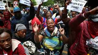 The UNHRC has called on refugees and asylum seekers to respect the laws of the country after clashes with police in the streets of Cape Town on Wednesday.  Picture: Brendan Magaar/African News Agency(ANA)