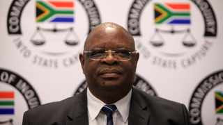 Deputy Chief Justice Raymond Zondo addressed the media on the extension of the lifespan of the commission. Picture: Nhlanhla Phillips/African News Agency(ANA).