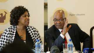 Former president Jacob Zuma and executive chairperson of the Jacob Zuma Foundation Dudu Myeni. Picture: S'bonelo Ngcobo/African News Agency (ANA)