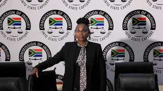Group Executive of Legal Risk and Compliance at Prasa, Ms Martha Ngoye appears before the commission of inquiry into allegations of state capture at City of Johannesburg Old Council Chamber, Braamfontein. Picture: Dimpho Maja/African News Agency(ANA)