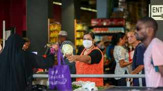 Panic-buying puts grocery workers and shoppers at risk of infection. Picture: Leon Lestrade/African News Agency(ANA)