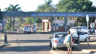 The main entrance to Dr George Mukhari Hospital in Pretoria. Picture: Thobile Mathonsi/African News Agency (ANA)