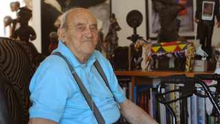 Denis Goldberg at his home in Hout Bay. File photo: Tracey Adams/African News Agency (ANA)