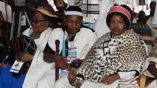 The Queen of AmaRharhabe Queen Noloyiso Sandile Picture: Phando Jikelo/African News Agency(ANA)