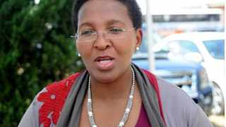 The Gauteng MEC of Community Safety Faith Mazibuko.Picture:ANA
