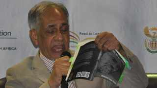 Deputy Basic Education Minister Enver Surty  launched his book titled In Pursuit of Dignity in Rustenburg on Tuesday. PHOTO: ANA.
