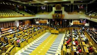 The National Assembly chamber. File photo: ANA/Ayanda Ndamane.