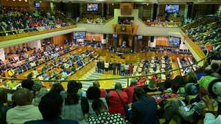 View of the National Assembly. ANC MP Thandi Modise has been elected the new Speaker of the National Assembly. Picture: Ian Landsberg/ANA.