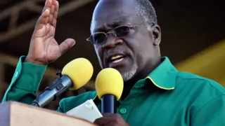 Tanzanian President John Pombe Magufuli allowed churches to continue operating, arguing that the coronavirus would not survive in a church or mosque. File picture: AP