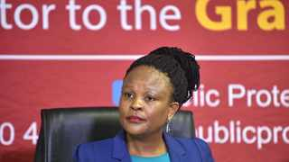 Public Protector Advocate Busisiwe Mkhwebane. File picture: African News Agency (ANA).