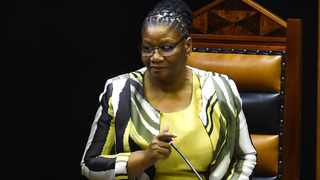 Speaker of National Assembly Thandi Modise has urged parliamentarians to always display the highest levels of integrity. File picture: ANA/Phando Jikelo