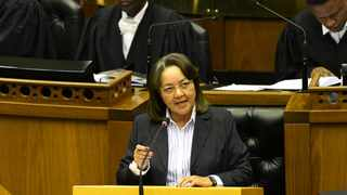 GOOD party leader and Minister of Public Works and Infrastructure Patricia De Lille. Picture: GCIS.