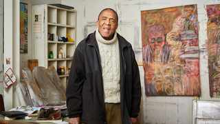 South African artist David Koloane, 81, dies. Picture: Supplied