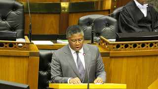 SA Transport Minister Fikile Mbalula. Photo: ParliamentofRSA/ZKostile