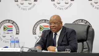 Commission of Inquiry into State Capture chairman Deputy Chief Justice Raymond Zondo. File photo: ANA/Karen Sandison.